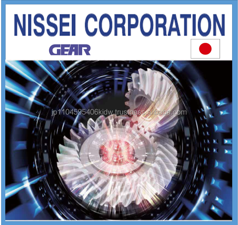 Easy to operate and Accurate reduction box Nissei gear for various needs