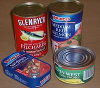 Can food sardine seafood for sale