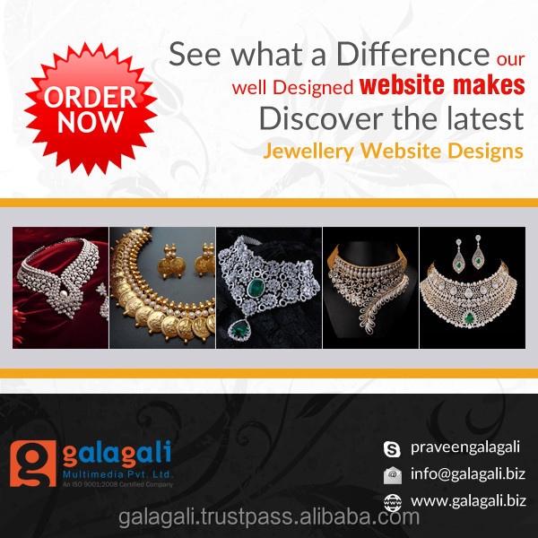 Outsource eCommerce Web Design and Web Development for Gemstone Jewelry , India