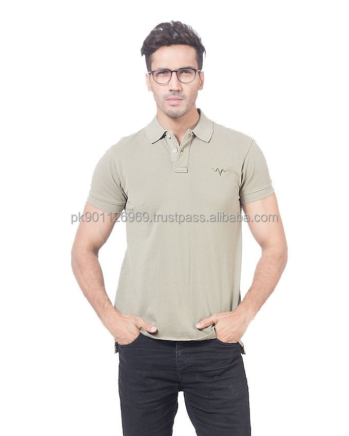 custom men gym fitted t-shirt/ cotton pique knit polo shirt