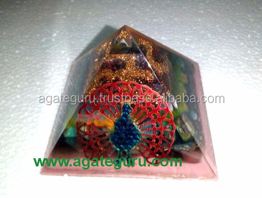 Flower Of Life Orgone Orgonite Reiki Pyramid