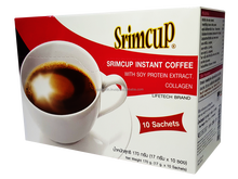 Lady Srimcup Soy Protein extract and Collagen Instant coffee