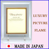 Durable and Fashionable crystal glass photoframe with photo stand made in Japan