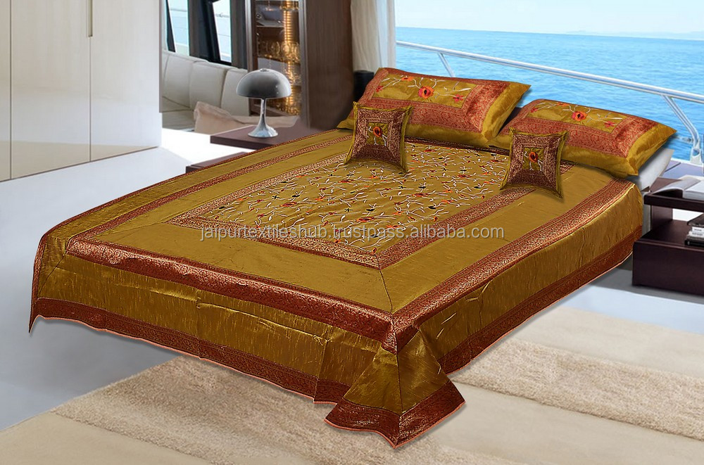Wholesale Classics style oriental kantha silk bed cover
