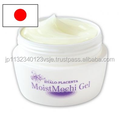 Convenient moisturizing placenta face cream made in Japan