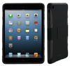 Extreme Hybrid TPU Shell Case flex hard silicone with black clip-on matte shell case for iPad Mini roocase (Black)