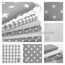 Dot and stripe print fabric