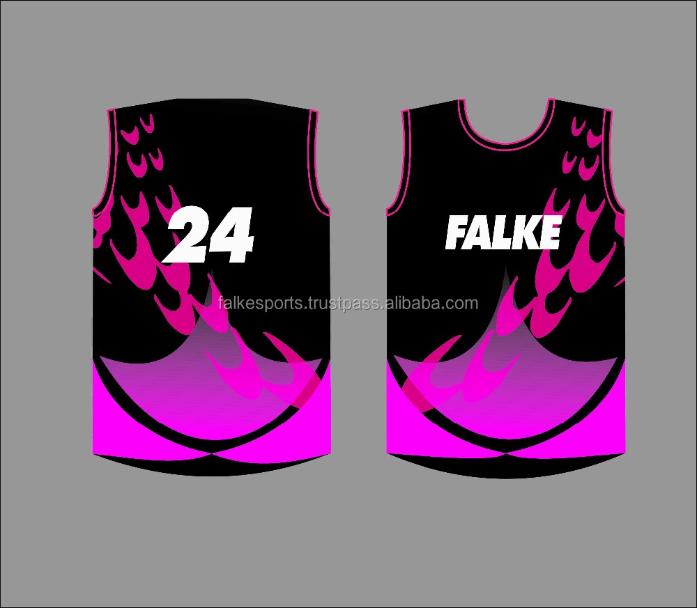 OEM custom made college sublimation basketball Jersey with number and logo