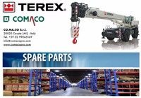 TEREX rough terrain crane SPARE PARTS