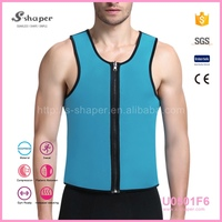 2016 High Quality Neoprene Vest Both Size Can Be Dressed Body Shaper Male Neoprene Vest