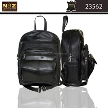 Made in india leather back pack/ college bag/ Travelling bag