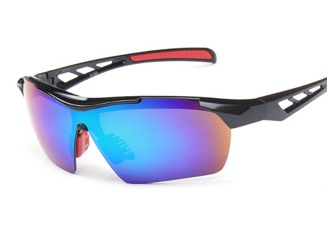 Sports Bike Plastic Sunglass Aerodynamic Glass Wholesale