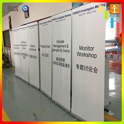 Retractable banner /pull up display stands banner