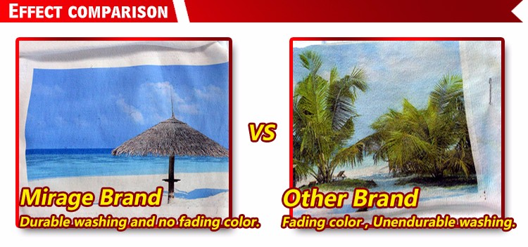 Light fabric Effect comparison 60C