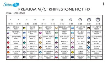 Premium M/C Rhinestone Hot Fix