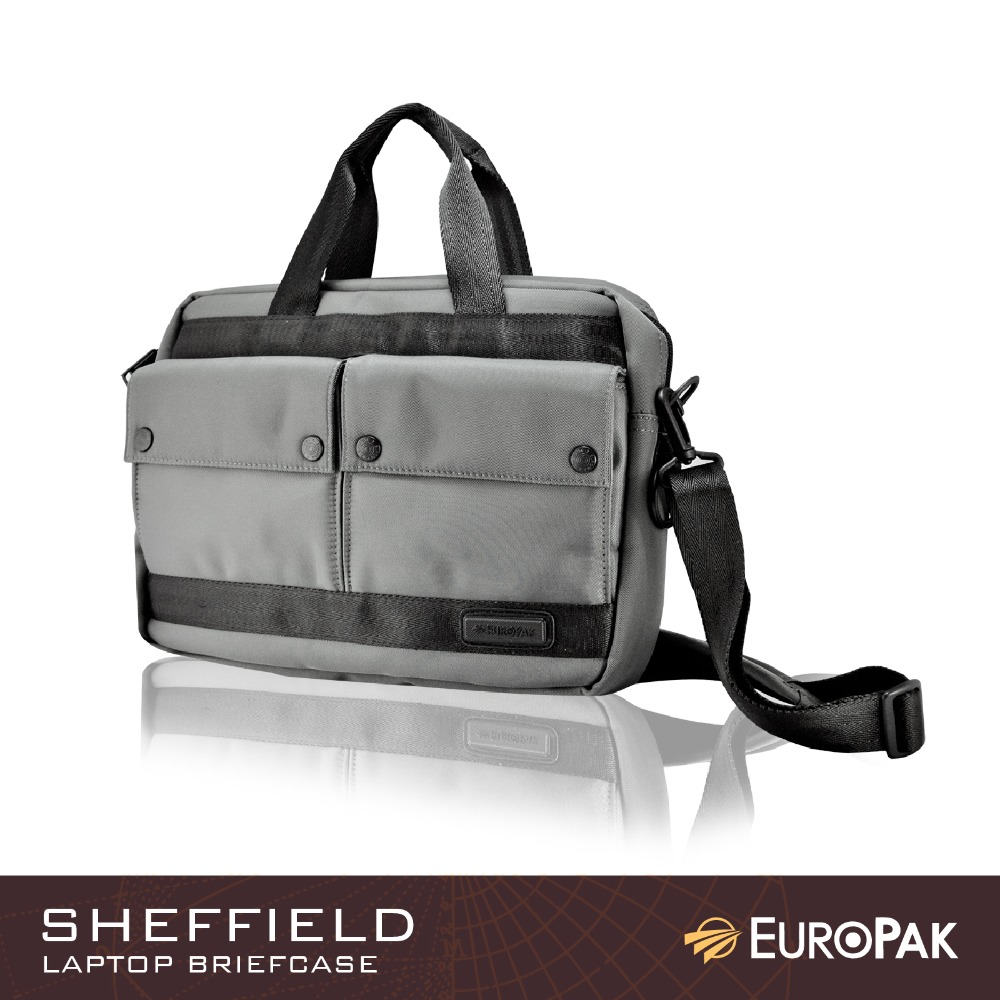 "Europak Sheffield Briefcase for 14"" to 15"" Laptop"