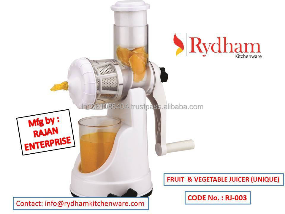 Plastic blackberry Juicer manual machine