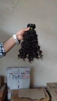 Full Cuticle Long Lasting Virgin Brazilian Human Hair from India