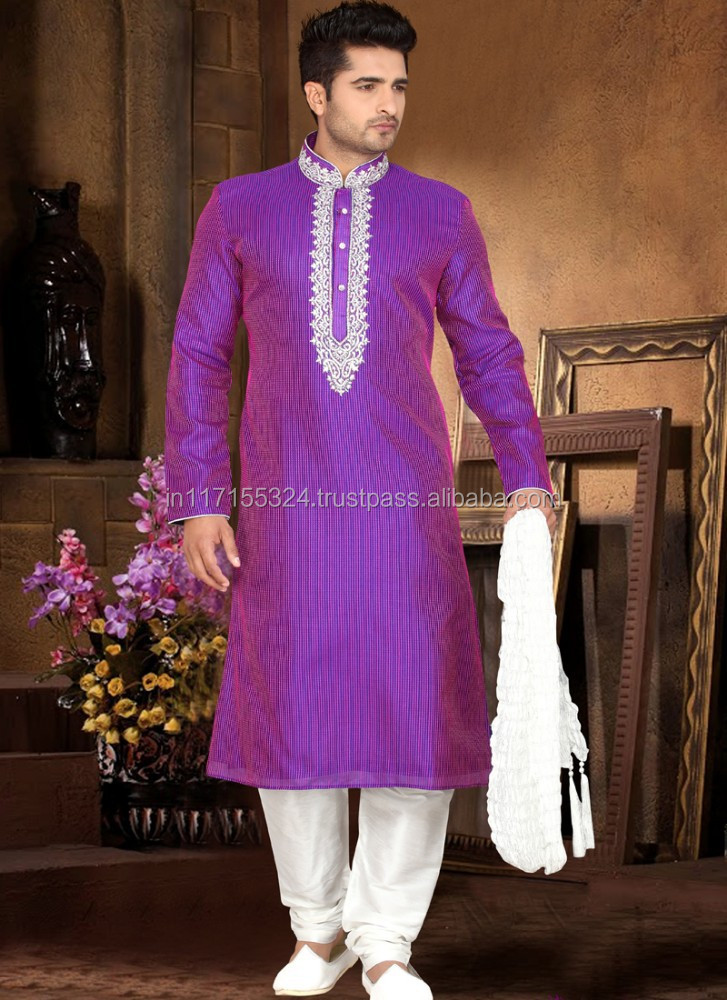 Kurta purple color fashion