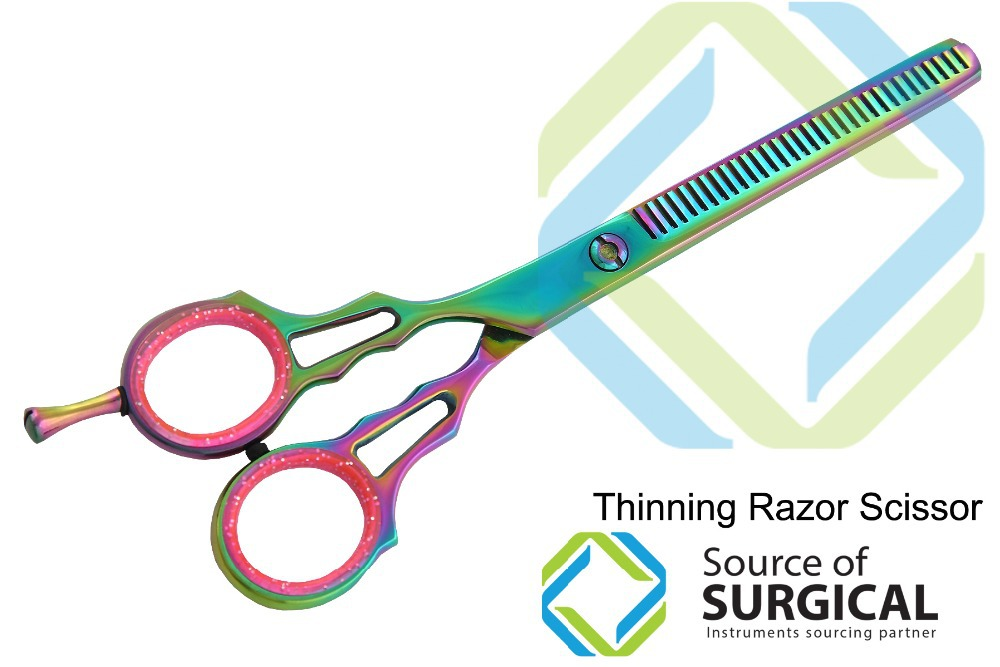 Barber Thinning Scissors, Professional thinning hair scissors