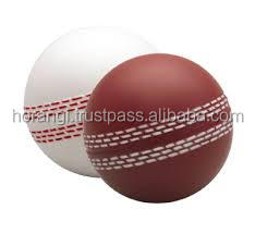 PU stress Cricket ball