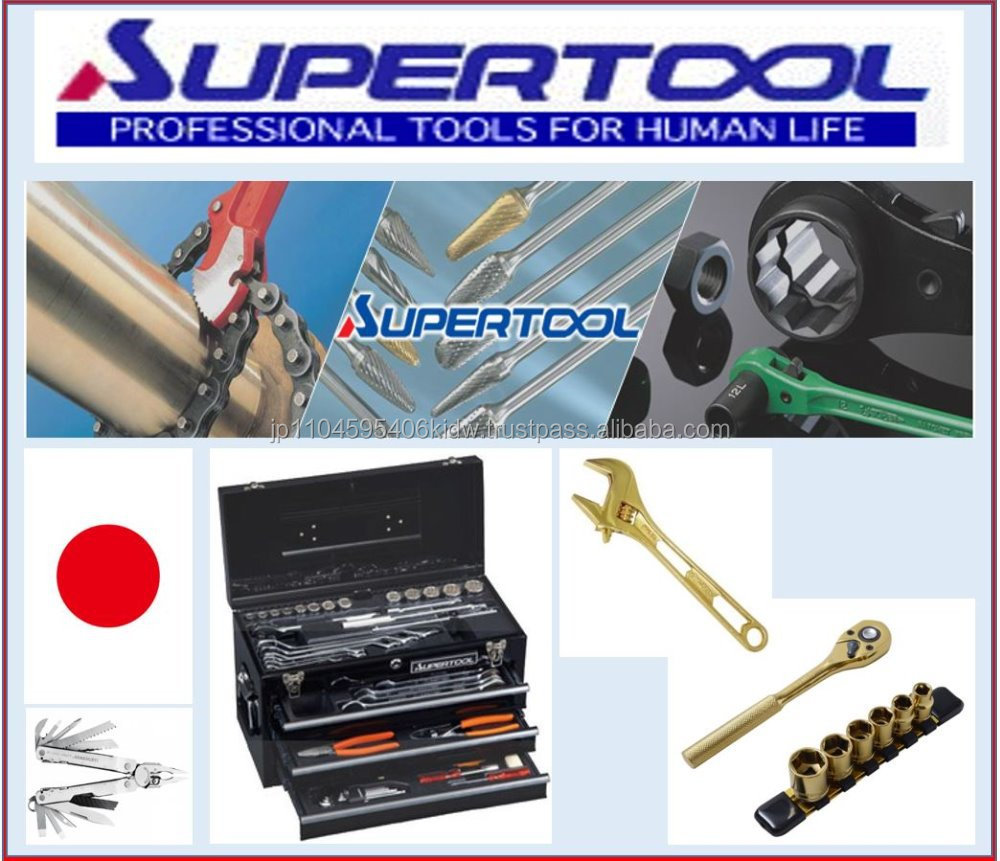 Easy to use SUPERTOOL adjustable wrench with excellent performance