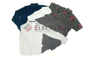 Used Men's Cotton Shirts