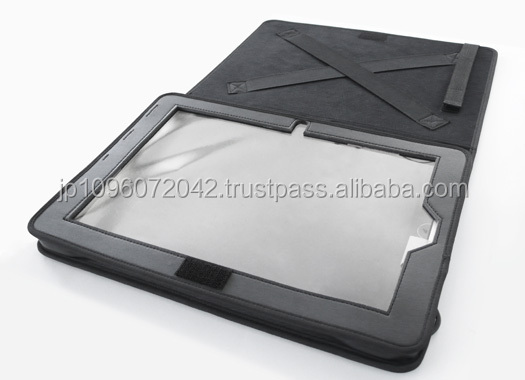 Reliable and High quality tablet cover for various types , textile leather product , etc. also available