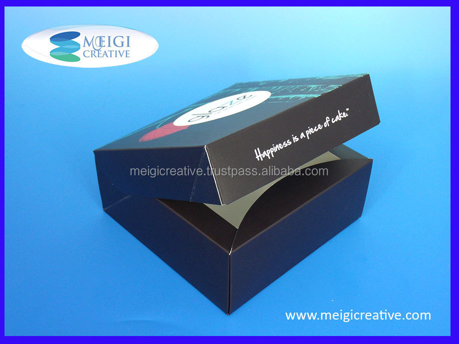Wine Box Packaging, Custom Folding Carton Box for Beverages