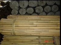 packing Bamboo poles