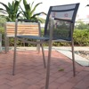 Outdoor stainless steel fabric garden chair furniture
