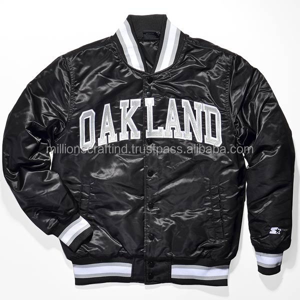 Varsity Jackets With Logo & Chenille Patch Oak Land Style