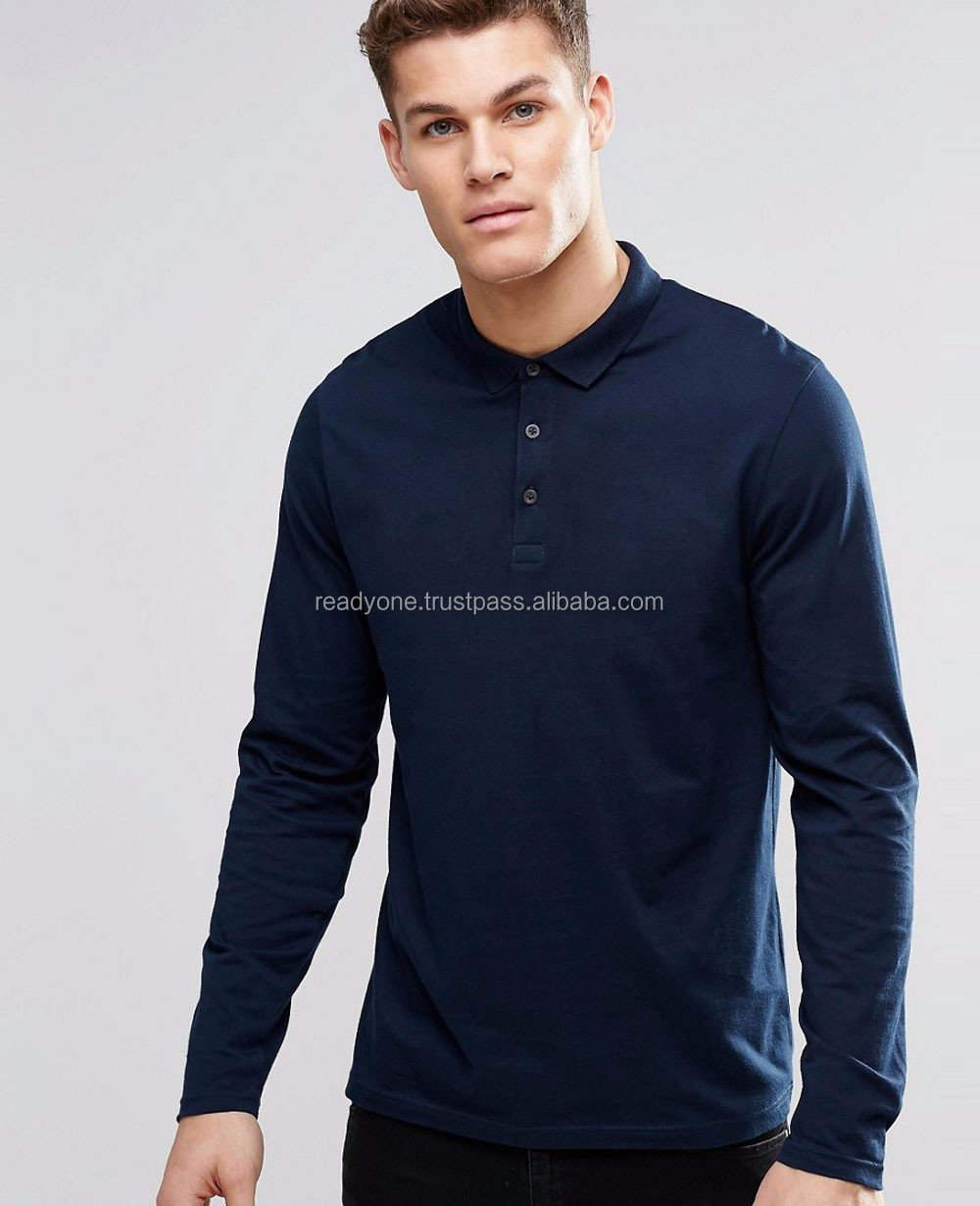 customize pique original man 100% preshrunk cotton polo t-shirt