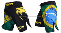2016 Wholesale Custom mma short , Sublimation MMA Fight Shorts , Bullterrier MMA shorts