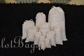 3' x 4' Double thick Drawstring Muslin bag. Premium Quality