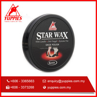 100 ml Black Shoe Polish with Carnauba wax Beeswax & Lanolin