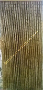 Room Divider Bamboo Beaded string curtains for doorways bamboo plain