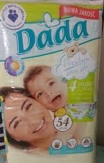 100% Pure Quality Soft DADA Baby Diapers
