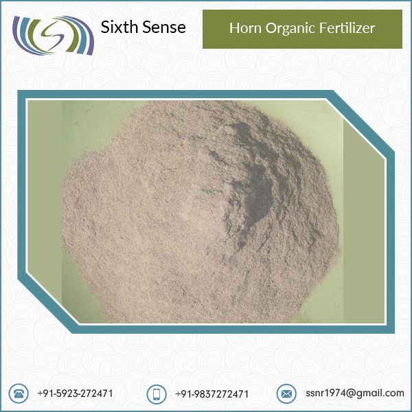 Organic Horn Fertilizer in Different Quantity Packaging