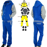 Custom Kevlar Suit Removable Armour Utlimate Protection Motorcycle Racing Suit