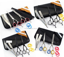 Barber Salon Hairdressing High Quality Steel with Razor edge Sharp Blades Hair Cutting Salon Scissors