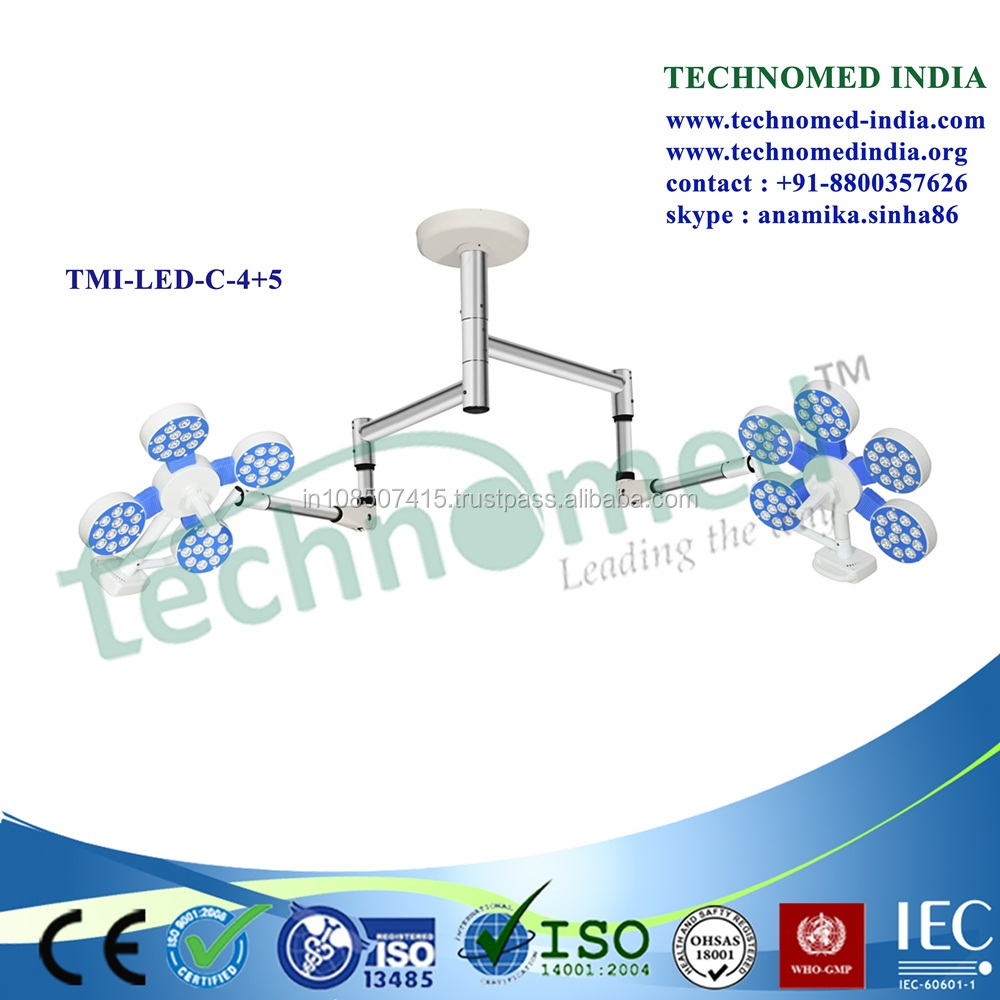 TMI-LED-C-5+4 LED surgery light for laser center and surgery center