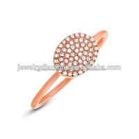 14k 18k Gold Real Diamond Couple Rings Jewellery Designs For Men Women in White Gold or Platinum Ring