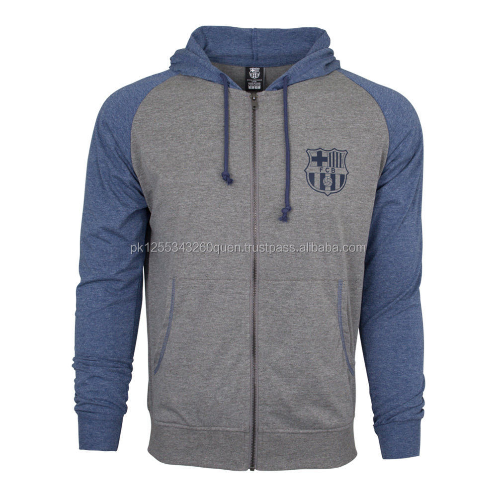 Custom Fashion Summer Hooded Sweatshirt Zipper-up Hoodies