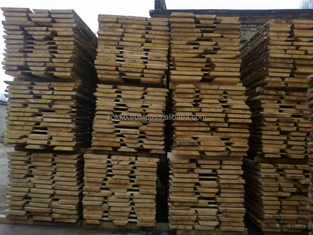 OAK UNEDGED TIMBER / DRY 8-12%