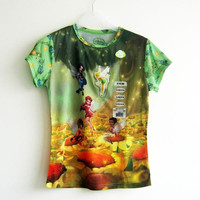All over sublimation reglan sleeve printing t shirts