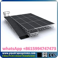 outdoor stage with roof top structure,galvanized steel staging