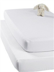 White Designer Queen Size Polyester Bed Sheets