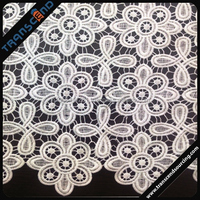 Polyester Bridal lace fabric designer
