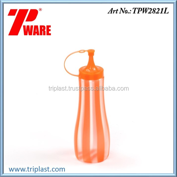 500ml Double Line Color Special Squeeze Sauce Bottle